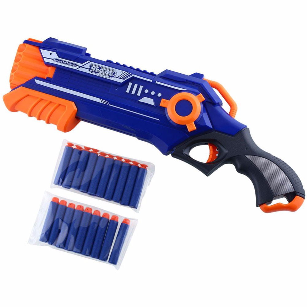 Plastic Pistol Nerf Gun Airsoft Toy Gun Sniper Rifle Arme Orbeez Arma Nerf Blaster With 12 Darts Kids Toys For Children Gifts(China (Mainland))