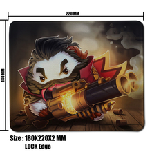 Buy Graves Poro LOL Mouse Pad Computer Mousepad League legends Large Gaming Mouse Mats Mouse Gamer Anime Mouse Pad for $1.88 in AliExpress store