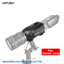 HPUSN Photography Studio Flash Speedlite light Blaster Background strobe-based image projector For Nikon Canon Lens