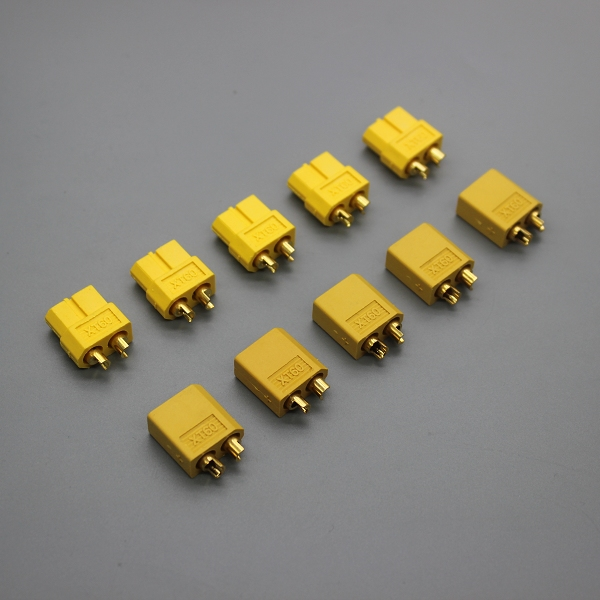 10pcs/lot XT60 Connector plug Male / Female for Battery quadcopter multicopter(China (Mainland))