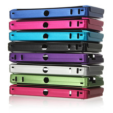 Special Offer Top Selling High Quality Aluminum Protective Skin Case Hard Metal Cover Box For Nintendo For 3DS Multi Colors(China (Mainland))