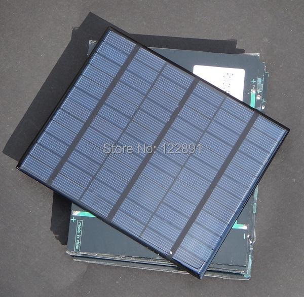 Здесь можно купить  Wholesale!18V 3.5W Polycrystalline Solar Cells Solar Panels For Charging 12V Battery DIY Solar Charger 15pcs/lot Free shipping  Бытовая электроника
