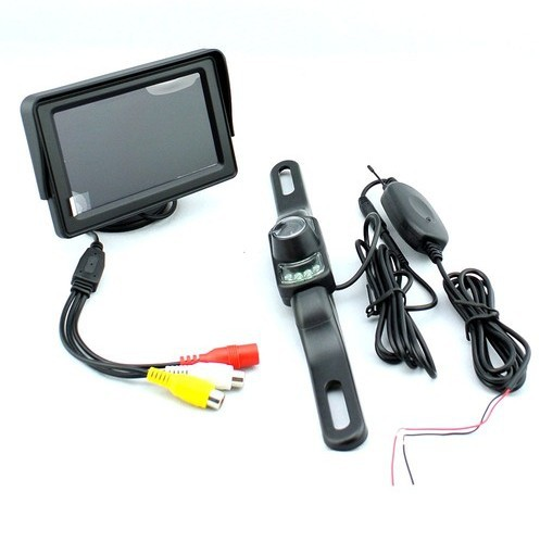new 2013 hot best price 4 3 tft sunshade lcd monitor wireless rearview backup camera. Black Bedroom Furniture Sets. Home Design Ideas