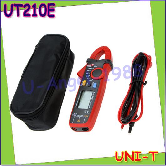 UNI-T UT210E Multimeter True RMS AC/DC Current Mini Clamp Meters w/ Capacitance Tester Digital Multimetro LCR Meter Megohmmeter