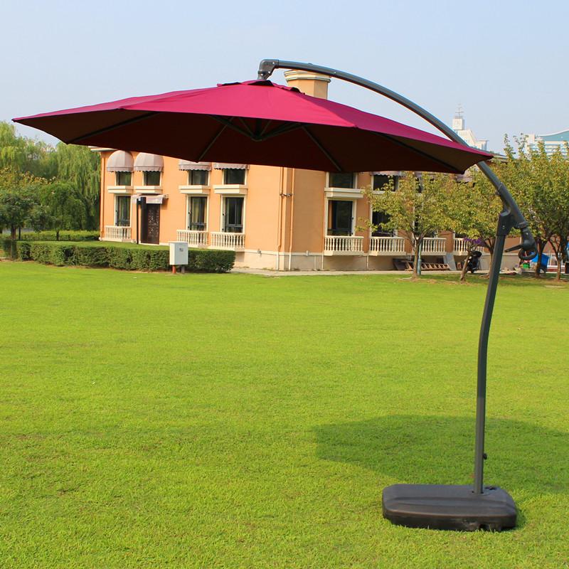 3 meters large outdoor umbrella beach furniture push patio aluminum<br><br>Aliexpress
