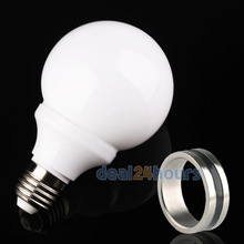 White Red Green Color Magic Light Bulb The Magic Lamp Trick & Magnet Ring Free Shipping(China (Mainland))