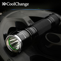 CoolChange 1000 Lumens Bicycle Holder Bike T6 LED Flashlight Torch Clip Mount Bicycle Front Bracket Flashlight