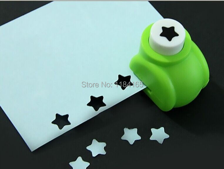 1pc Children Mini Printing Paper Hand Shaper Scrapbook Tags Cards Craft DIY Punch Cutter Tool for Kids Gift(China (Mainland))