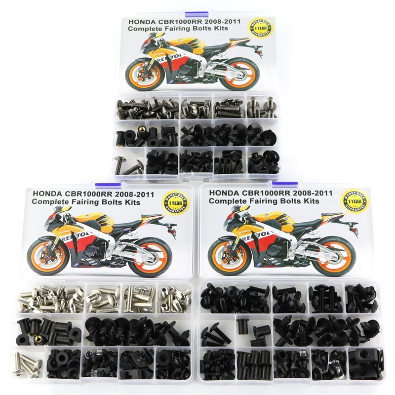 Motorcycle Aluminum Alloy Bolt Fairing Screw Kit For  Honda CBR1000RR 2012-2016