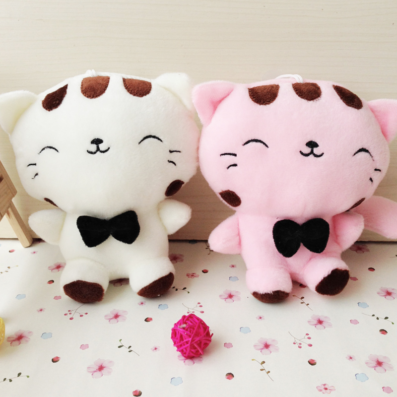 Wedding doll plush toys big cat face small doll, cloth doll cat, corporate events gifts, Christmas gifts(China (Mainland))