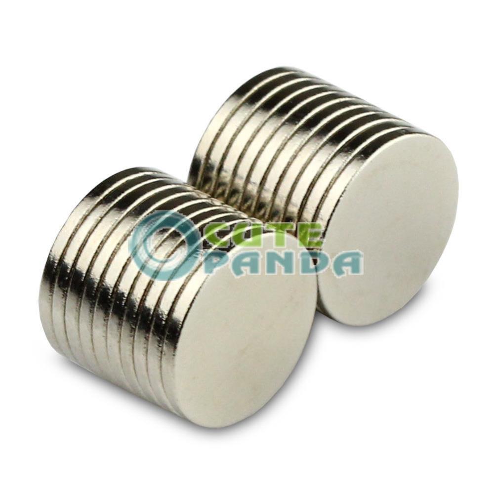 Гаджет  20 pcs Super Strong Round Disc 10 x 1 mm Magnet Rare Earth Neodymium N50  None Строительство и Недвижимость