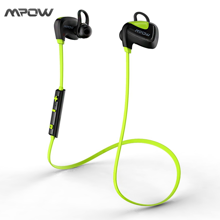 MBH24 Mpow Seashell Sport Waterproof Earphone Stereo Bluetooth 4.1 USB Charging In-Ear Wireless Headphone Headsets for iPhone(China (Mainland))