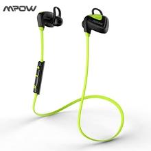 MBH24 Mpow Seashell Sport Waterproof Earphone Stereo Bluetooth 4.1 USB Charging In-Ear Wireless Headphone Headsets for iPhone(China (Mainland))