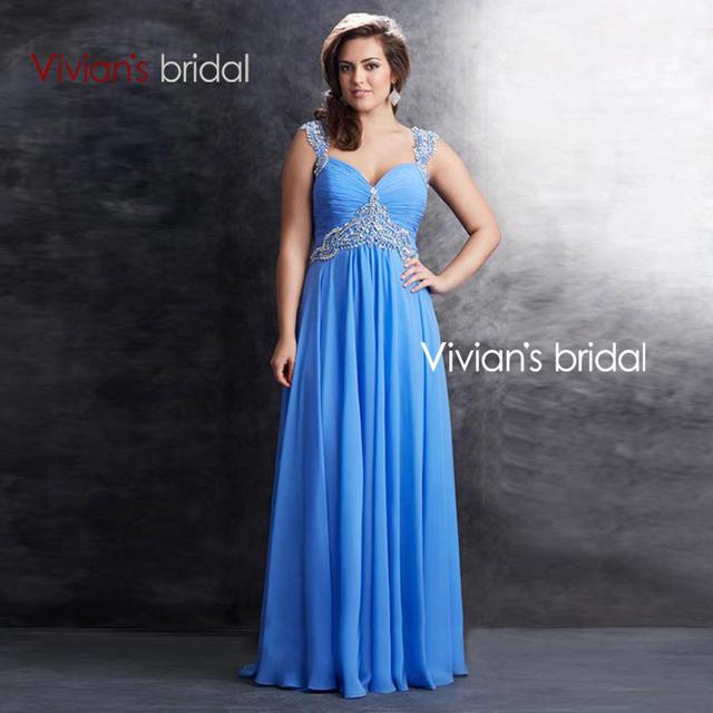 Вечерние платья вивиан свадебные длинные бисером StrapsTwo цвета Большой размер 2015 ...