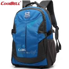 "Coolbell 14"" 15"" Tablet Travel Sport Backpack Shoulders Bag Laptop Notebook Within 15.6 inch For Macbook Surface Book School Bag(China (Mainland))"