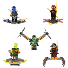 Minifigures Ninja Building Blocks Toy Figures KAI,JAY,COLE,ZANE,Lloyd Kids Gifts Toys - Corn Store store