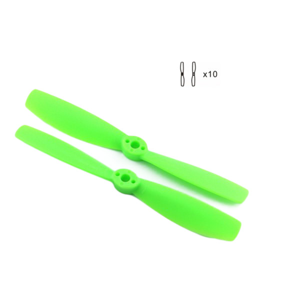 10 Pairs 5045 5×4.5 Inch Bullnose PC Fiberglass Propellers CW CCW RC Propellers For Helicopter Part RC Toys Part Kingkong