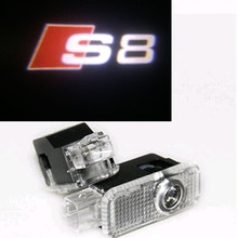 Led Auto Logo/Emblem Laser Lamp LED Car Door Step Ghost Shadow Welcome Projector Light Audi A8 S8 RS8 - Asia Automotive Lighting Co., Ltd. store