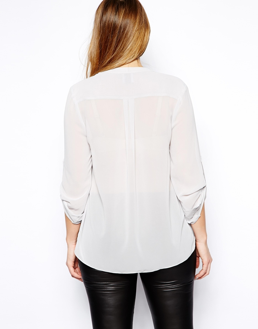 Plus size 3xl 4xl sexy women white t shirt 2014 new autumn for Three quarter length shirt