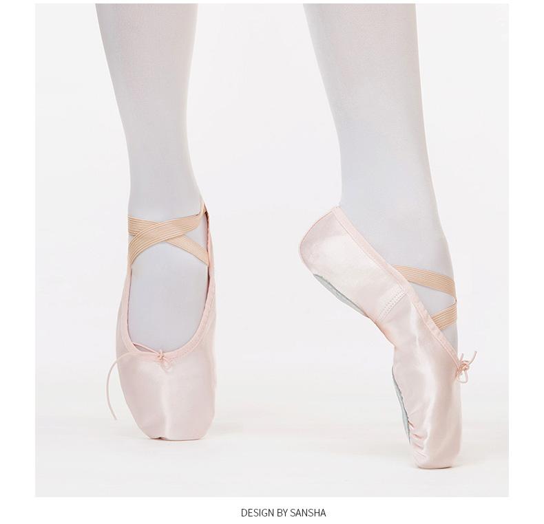 Detail Feedback Questions about Sansha 2017 New Adult Satin Ballet ... e5e3bca8ccdf