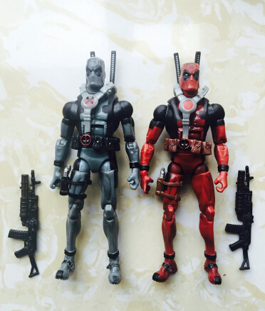 18cm Super hero Justice league X-MAN Deadpool PVC Action Figure Collectible Toy Christmas Toy(China (Mainland))