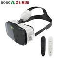 2017 BOBOVR Z4 Mini VR Cardboard Headset 3D Glasses Virtual Reality Smartphone Head Mount Helmet For