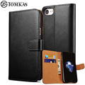 Leather Case For iPhone 7 7 Plus Wallet Flip Cover Phone Bag Case For Apple iPhone