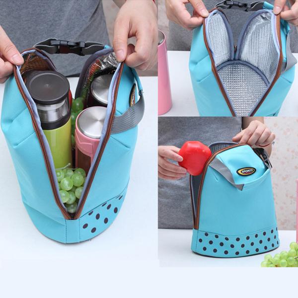 4 цветов портативный льда сумки оксфорд руку носить с собой утолщенной сумки-холодильники ...