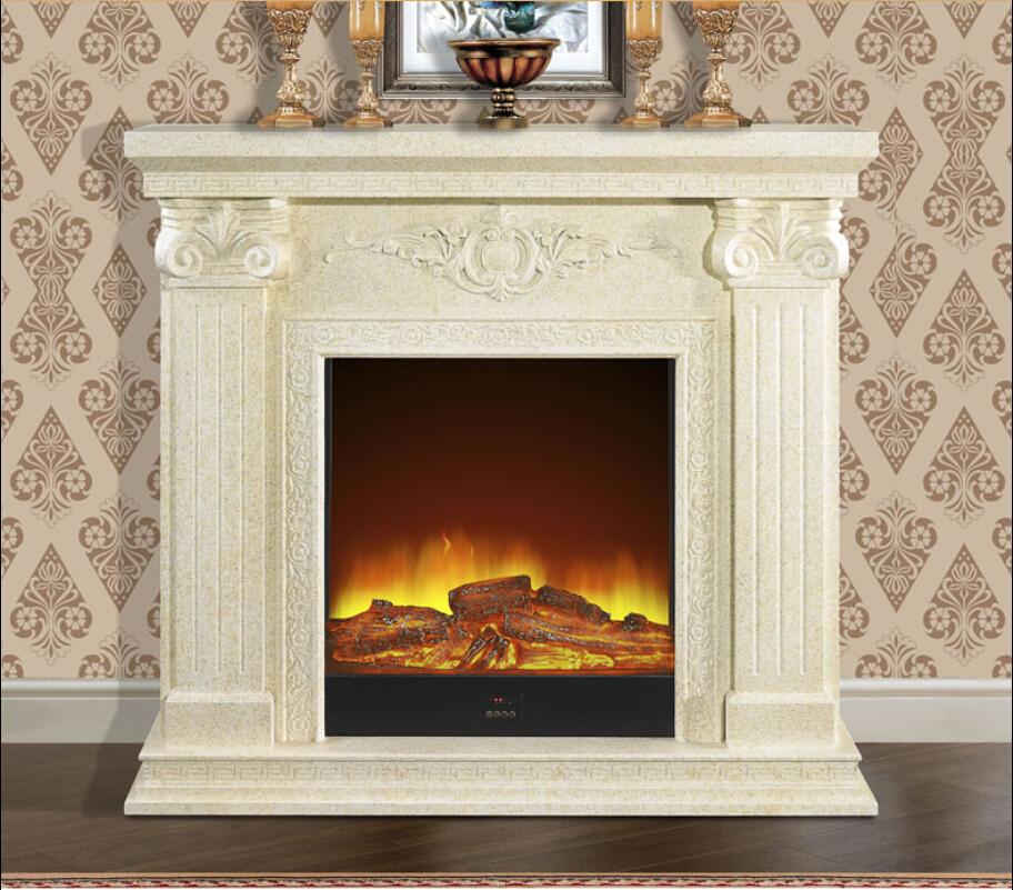 47 43 Electric Flame Fireplace Insert Heater Modern