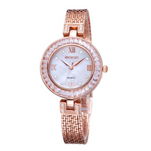 WEIQIN Luxury Brand Fashion Casual Watch Women Rhinestone Watches Dress Gold Quartz Mest Band Clock Montre Femme Relojes Mujer