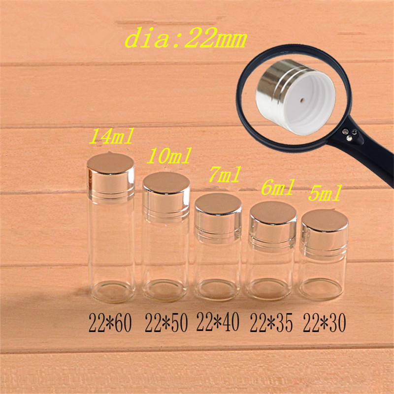 Mm Size Glass Clear Plastic Containers
