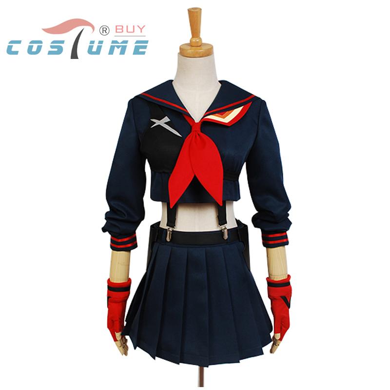 KILL la KILL Ryuko Matoi japanese Anime Party Halloween Cosplay costumes For Women Girls Dress Custom Made Free Shipping(China (Mainland))