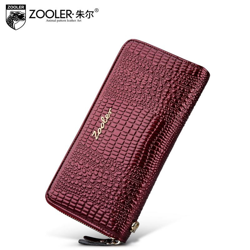 brand ladies purses Womens leather wallet with coin pocket Luxury clutch purse Alligator Grain Long Holiday valentine gifts<br><br>Aliexpress