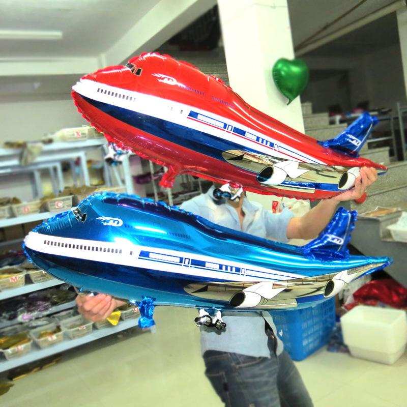 Free Shipping Oversized Airbus modeling aluminum balloons birthday holiday party decoration balloon toy wholesale(China (Mainland))