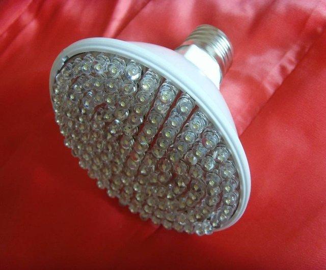 10W led spot light,E27 base;216pcs 5mm DIP LED;warm white color;P/N:APO30