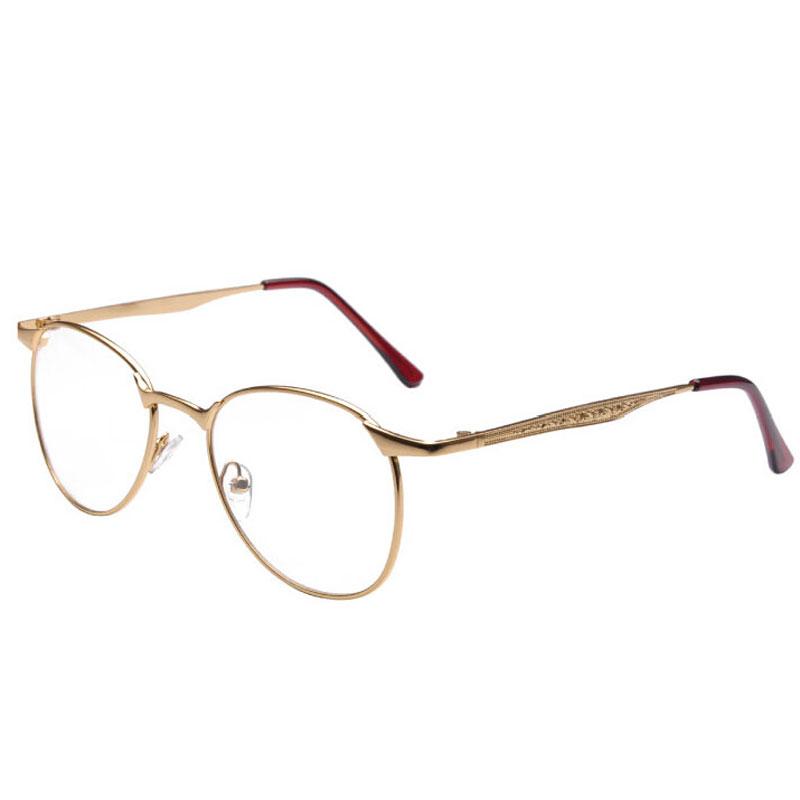Clear Glasses Gold Frames : Aliexpress.com : Buy Vintage Mens Gold Frame Eyeglasses ...