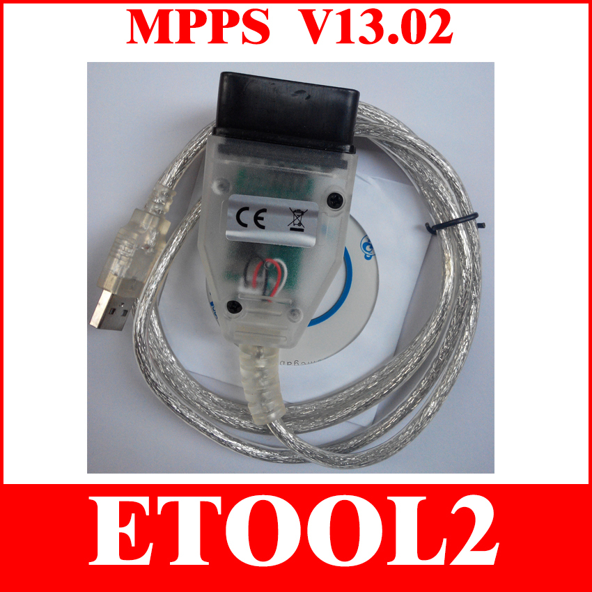 2015 Newest and Best Quality MPPS V13.02 with Multi-language CAN Flasher Chip Tuning ECU MPPS Professional Cable(China (Mainland))