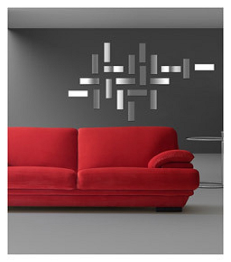 Acrylic wall stickers home decor mural wall decals for Diy wall mural