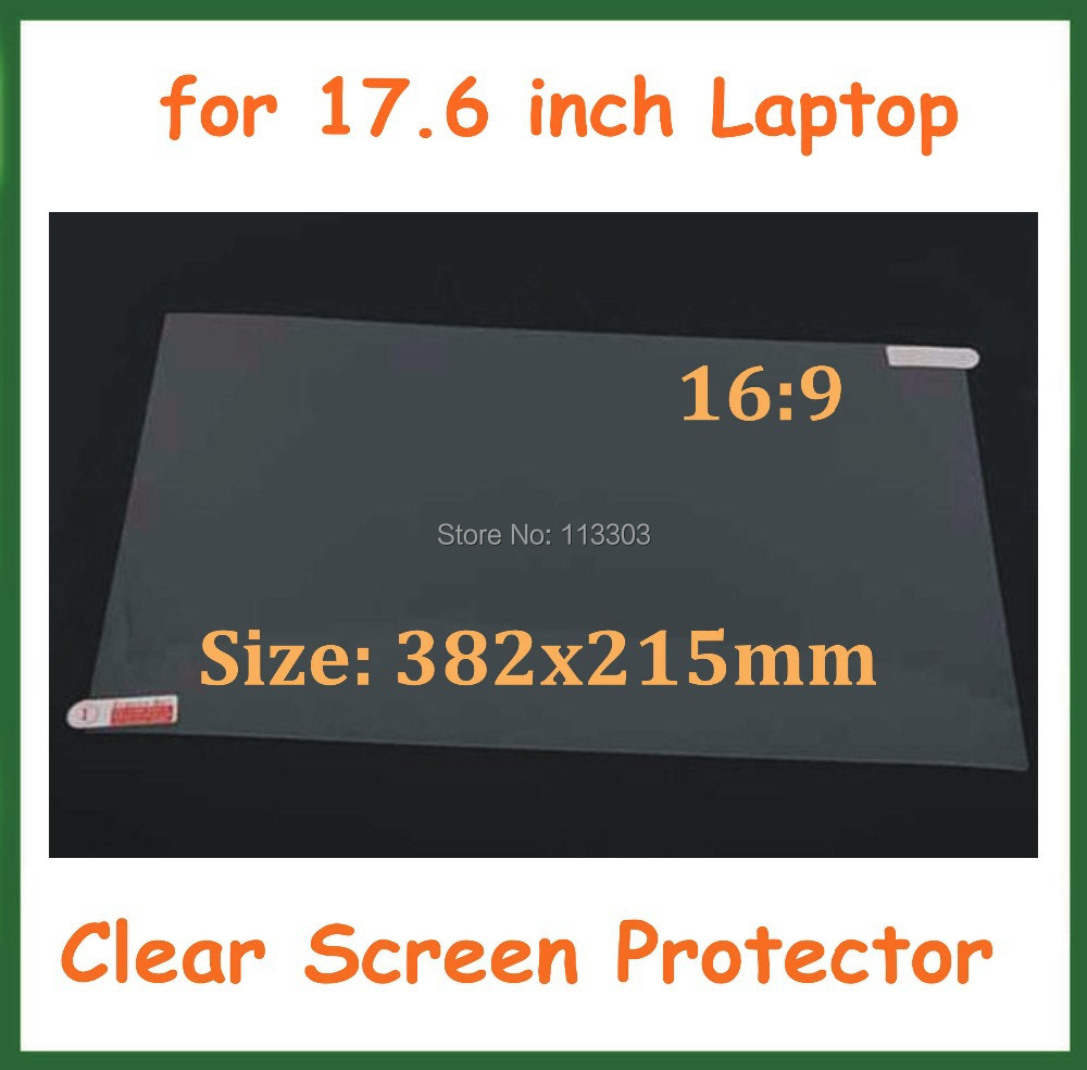 Ultra Clear Screen Protector 17.6 inch LCD Computer Monitor Laptop Notebook PC Protective Film Size 382x215mm 16:9 - Doldol (HK store Co., Ltd)