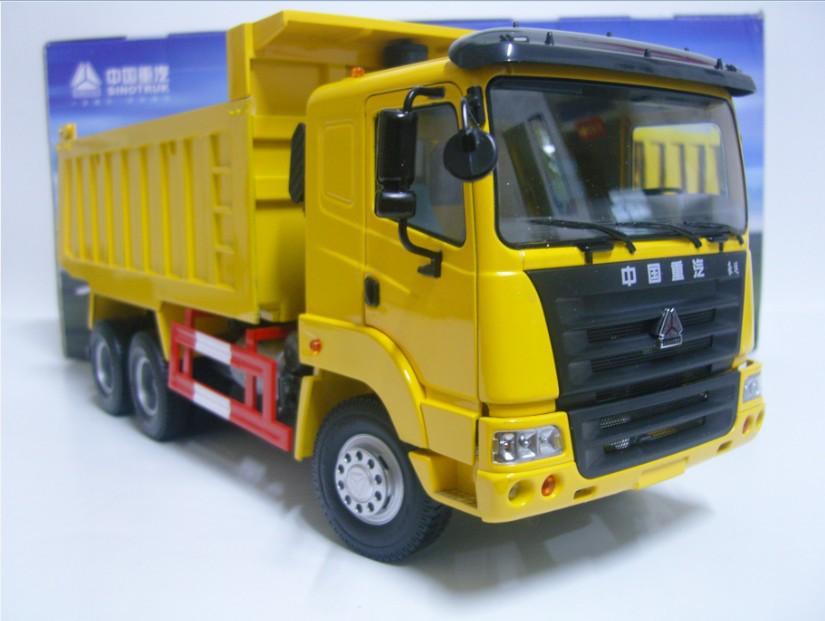 William cars - howorth getlucky howo dump truck car model(China (Mainland))