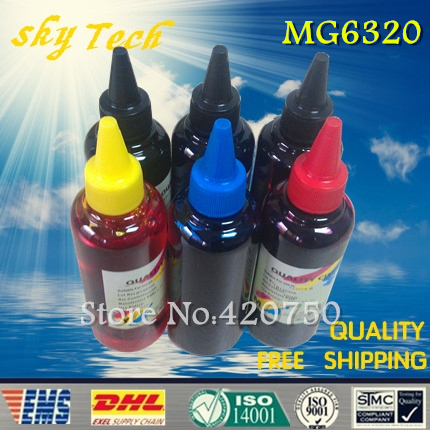 Здесь можно купить  Dye refill ink Suit for PGI250 CLI251 cartridges , replacement ink suit for Canon Pixma MG6320 ,6 Color ,with GY, Free shipping Dye refill ink Suit for PGI250 CLI251 cartridges , replacement ink suit for Canon Pixma MG6320 ,6 Color ,with GY, Free shipping Компьютер & сеть