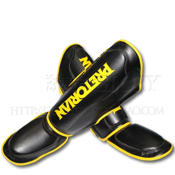2015 new hot PRETORIAN Muay Thai shin guards with instep / Muay Thai foot care / Muay Thai Leggings(China (Mainland))