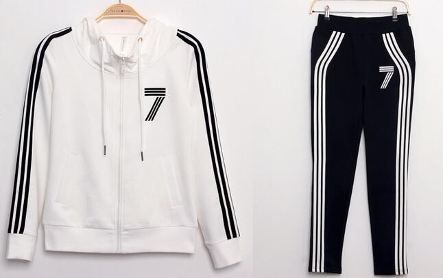 2016 New Hoodies Women Casual Sweatshirt Women Tracksuit Women's Clothing Plus Size Two Piece Set