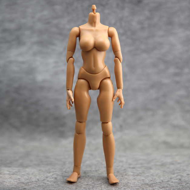 """1:6 Scale Action Figure Model Toy Medium Chest Bust Women Female Body 12"""" 1/6 Military Figure Army Combat Soldier(China (Mainland))"""