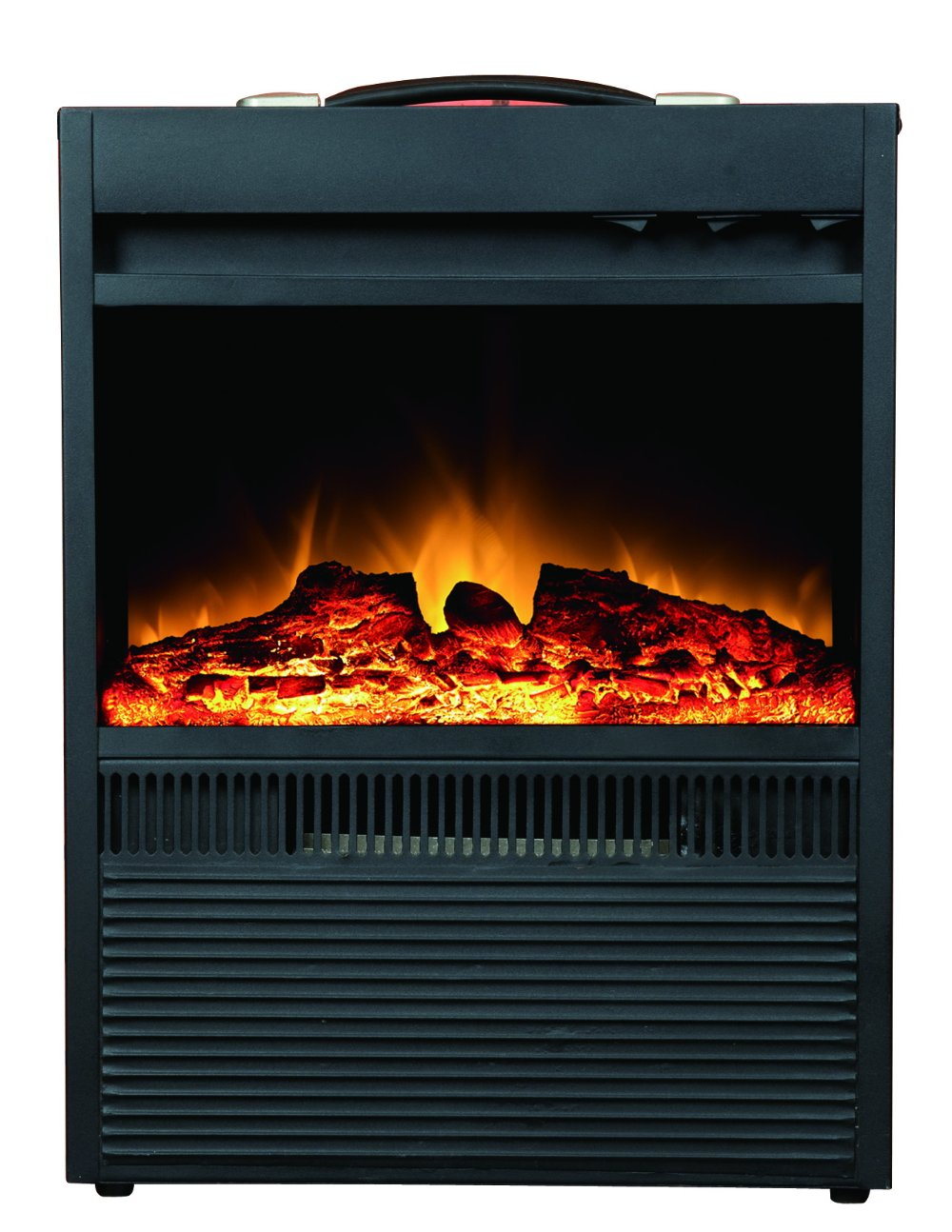 Portable Insert Indoor Decrotive Electric Fireplace With Mantel In Electric Fireplaces From