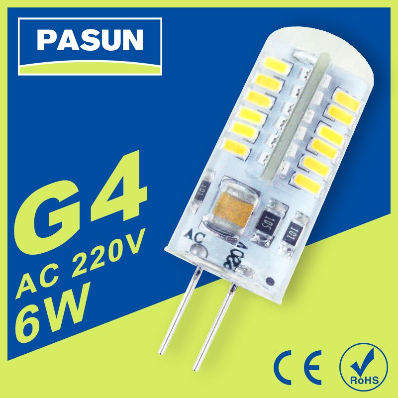 10PCS New Led G4 bulb AC 220V SMD 3014 3W 4W 5W 6W 7W 9W 10W Replace halogen lamp 360 Beam Angle LED Bulb Warm/Cold White light<br><br>Aliexpress