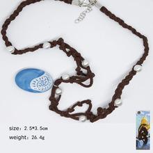 Animie Polynesia princess Moana necklace Movie Cosplay Costume Plastic Necklace