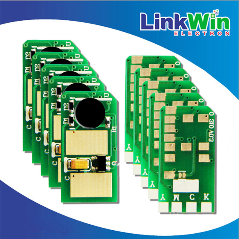 Laser color chip for OKI MB461 buy from China online with Black chips 44574702(China (Mainland))