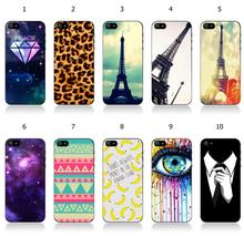 10designs 1pc retail hybrid colorful eyes banana white hard mobile phone cases cover for IPHONE 5 5s free shipping