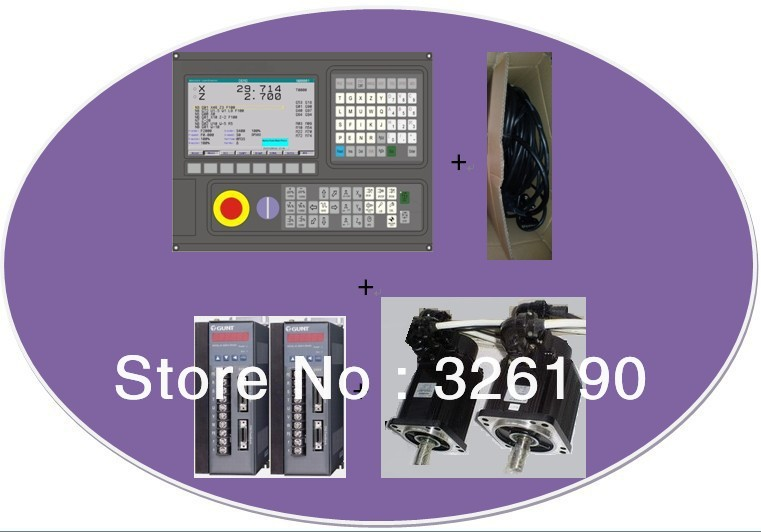CNC Controller Full kit----GREAT-130iTC + servo driver +6Nm motor +10Nm - SoTeng Technology Manufacturer store